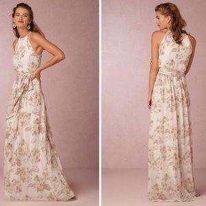 Donna Morgan Alana printed bridesmaid gown